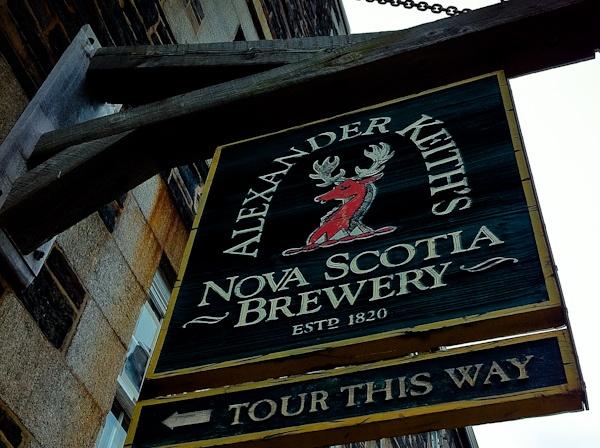 Alexander Keiths Nova-Scotia Brewery-Halifax, est. 1820