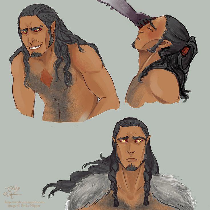 Quick+Sauron+face+sketches+by+RivkaZ.deviantart.com+on+@DeviantArt