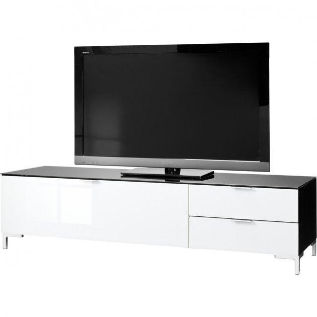 TV meubel 12 zwart/witglas Cleo 319