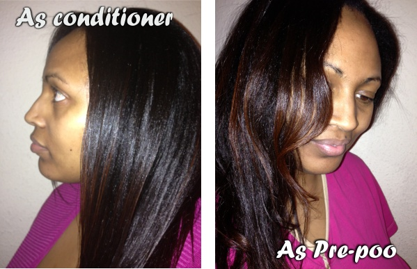 Use caramel treatment as conditioner or as prepoo