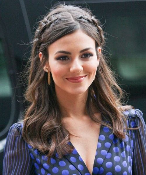 Victoria Justice Stylish Little Braided Long Hairstyles 2018 for Women to Try
