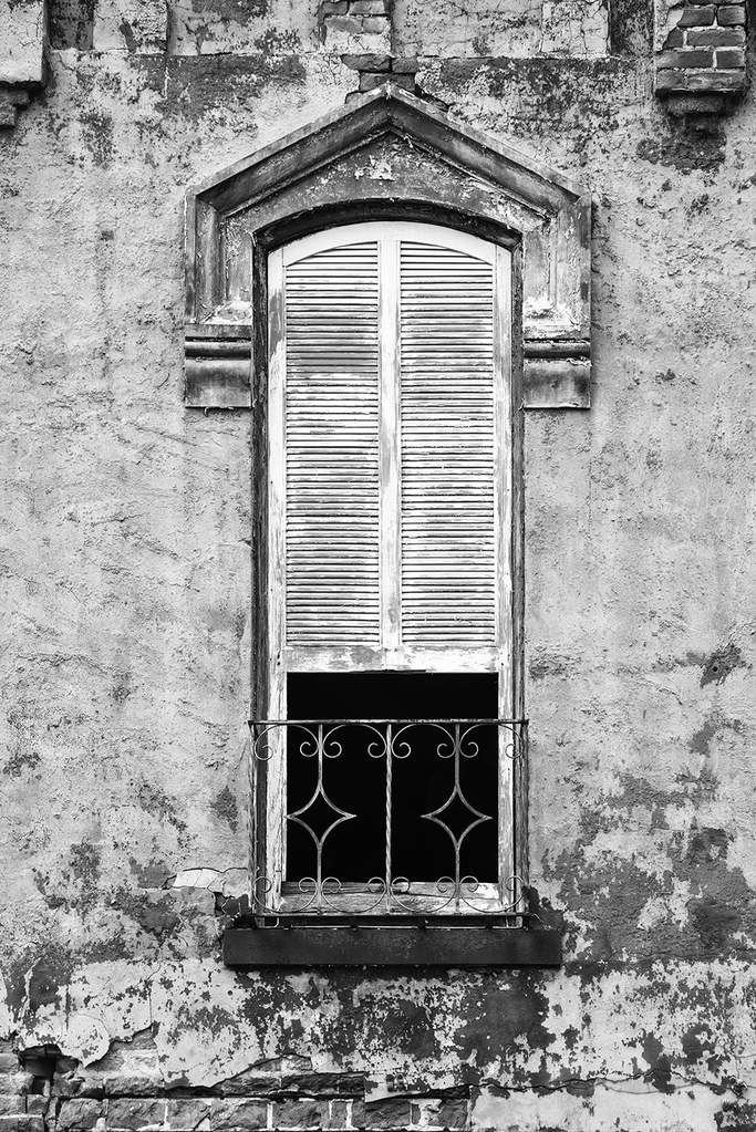Abandoned Buildings Black And White Photography