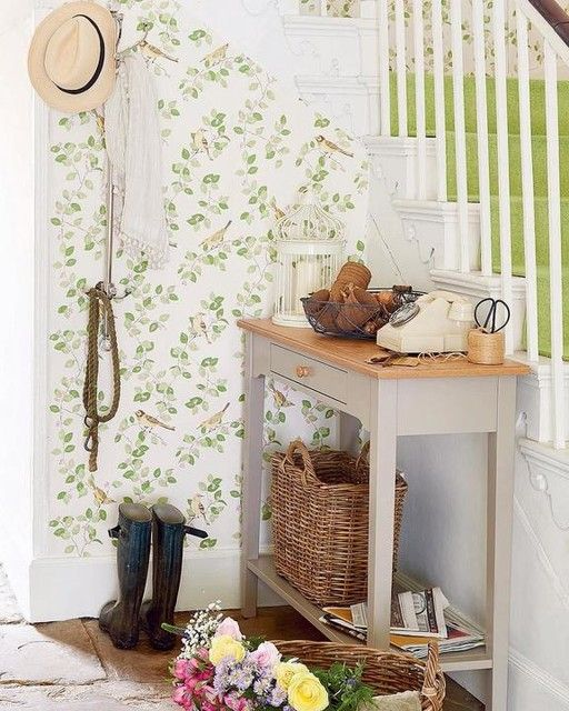 Aviary Garden Apple Green Wallpaper Laura Ashley