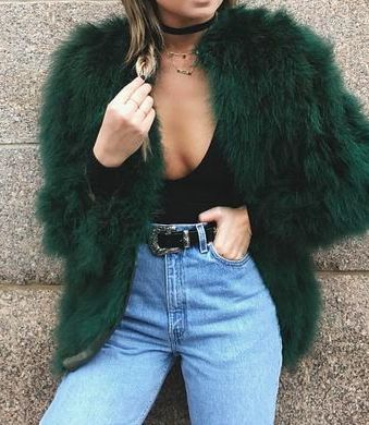 faux fur + bodysuits