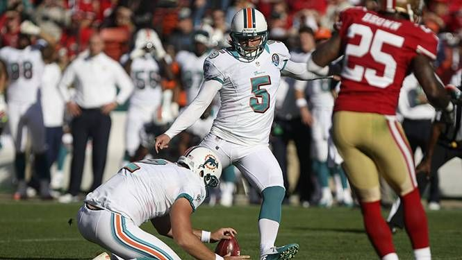 Miami Dolphins Dan Carpenter