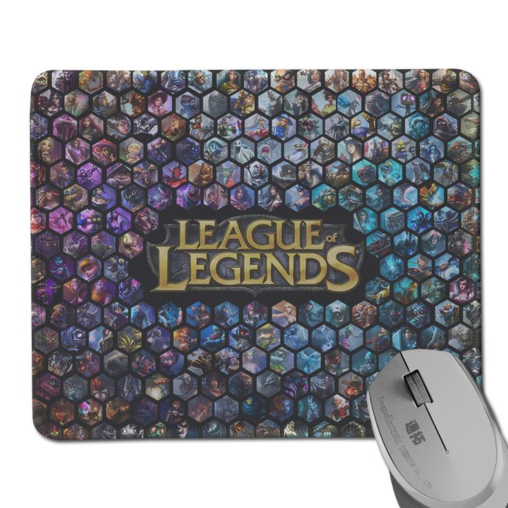 Gaming Mouse Pad League of Legends Anti-Slip Rectangle Cloth&Rubber Large Mat for Game Speed Mouse Mat Special Design