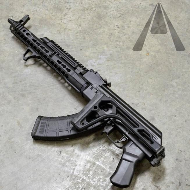 SIG Stock Adapter for AK-47 Rifles by Aeroknox - The Firearm BlogThe Firearm Blog