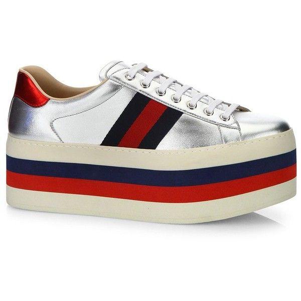 Mens platform shoes, Metallic shoes