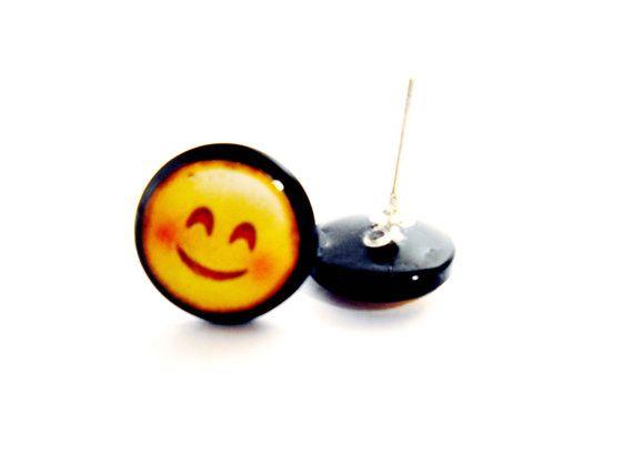 Zarcillos Emoticonos del Whatsapp emoji messenger por eliepoxis