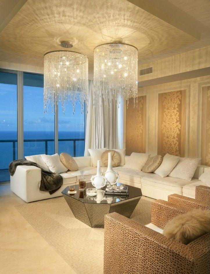 Contemporary Living Room By DKOR Interiors Inc Interior Designers Miami FL