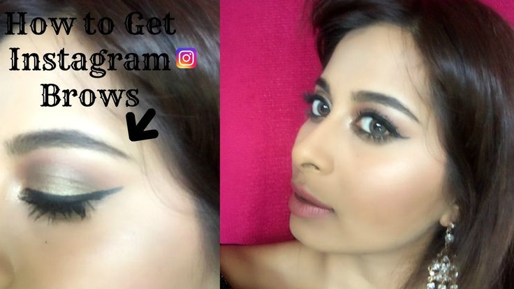 How to get perfect Instagram Brows | Chermel Maharaj