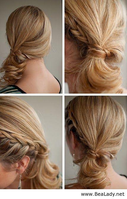 Baided ponytail - BeaLady.net