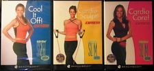 Workout DVD's lot of 3 Cardio, Sculpt, Stretch, Express Debbie Siebers Beachbody