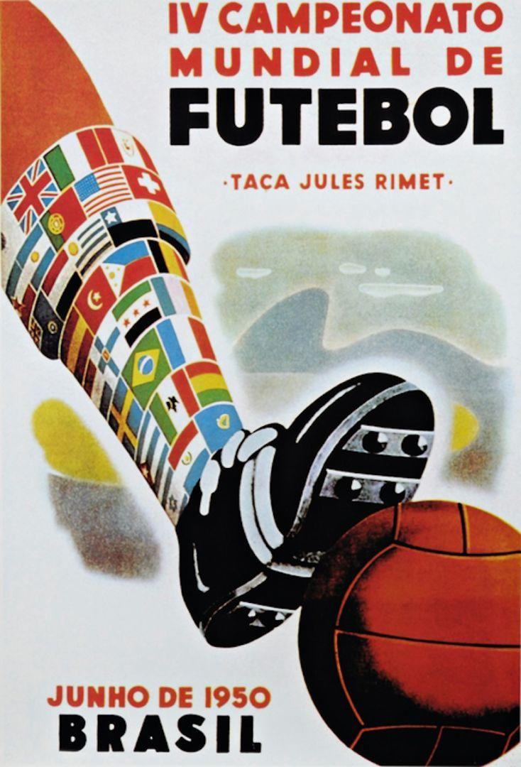 Coupe du monde 1950 au Brésil.