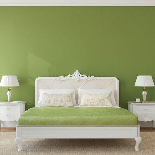 Oltre 1000 idee su pareti camera da letto verde su - Idee colori camera da letto ...