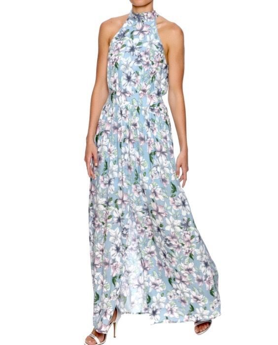 SOUTHERN GIRL FASHION $65 Floral Maxi Dress Printed Bohemian Long Gown S M L NWT #Boutique #BeachDressMaxiSundressTeaDressWigglePencil #Casual