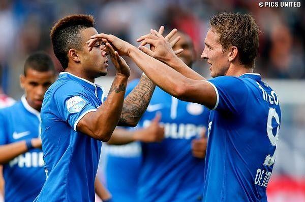 Depay & De Jong vs Willem II (1-3)