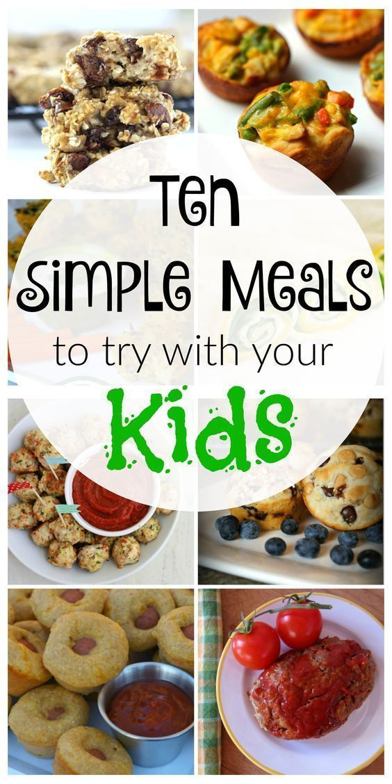 Looking for healthy options for breakfast, lunch or dinner, but don't have time to mess around in the kitchen? Check these simple, kid-friendly meals out!