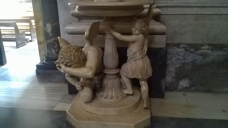 La cacciata di Lucifero, Basilica di San Paolo, #Roma