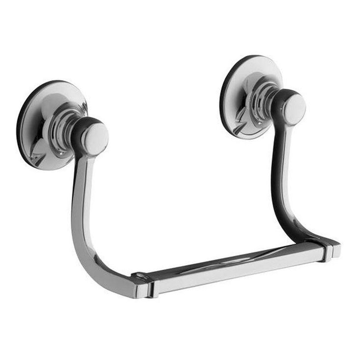 KOHLER Bancroft Hand Towel Holder in Polished Chrome-K-11416-CP - The Home Depot