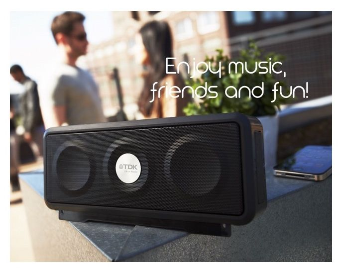 #WIRELESS #WEATHERPROOF SPEAKER by TDK: discover its power! http://bit.ly/18UfHkV #music #party #friends #quality #fun