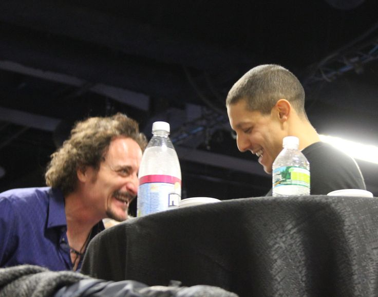 """theo rossi and kim coates   Northeast Motorcycle Expo: Theo Rossi and Kim Coates """"Charming ..."""