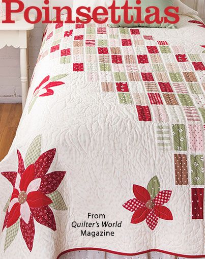 154 best Quilter's World Magazine images on Pinterest | Easy ... : quilt it for christmas magazine - Adamdwight.com