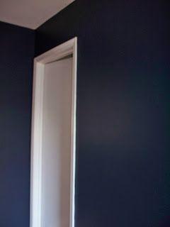 Valspar Royal Navy For Nursery Accent Wall Our Home