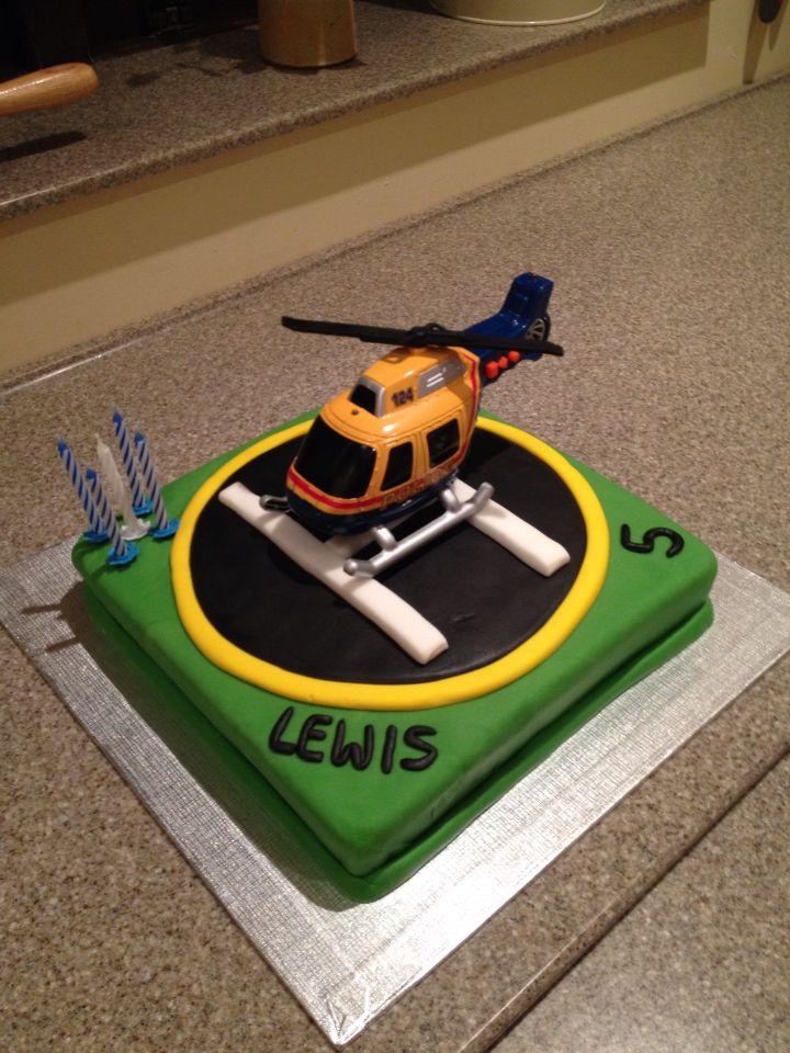 Helipad cake