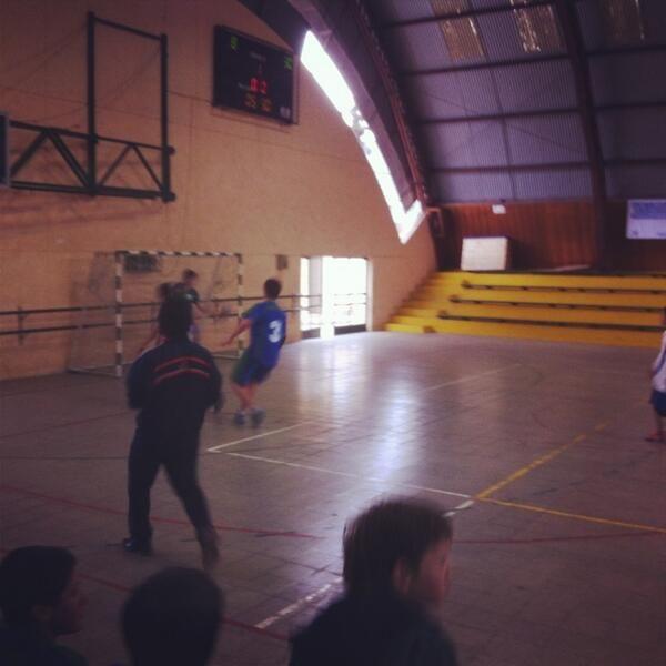 Colegio Valle del Aconcagua obtiene el tercer lugar en hándbol masculino