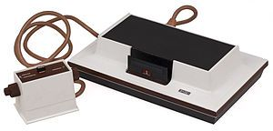 The Magnavox Odyssey - 1972 - the first at home video game console.