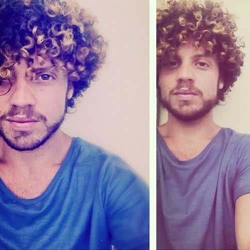 how to get your hair curly for guys