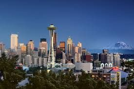Seattle, Washington is where my cousin lives. Been there a few times and love the city!