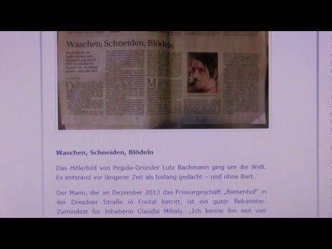 Die Wahrheit über das Hitler Bild von Lutz Bachmann.