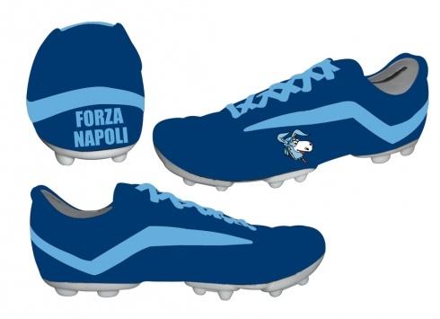 Scarpe Da Calcio Del Napoli