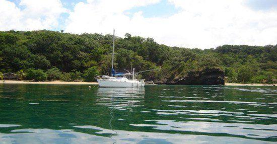 Cayo Cochinos in #Honduras è la location dell'Isola dei Famosi 10! #Isola http://gnam.me/xmee4