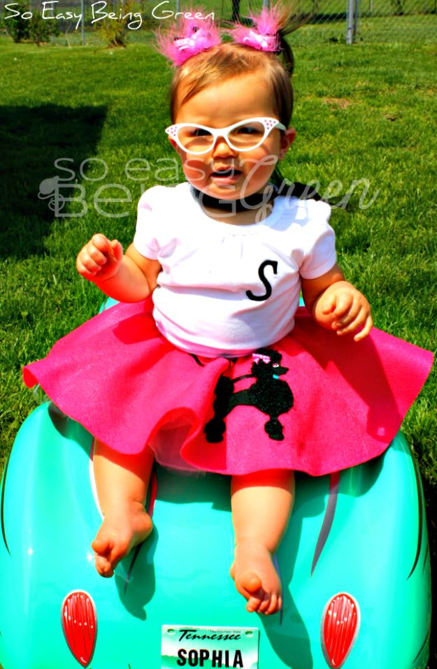 birthday bash toddler poodle skirts diy toddler halloween girl