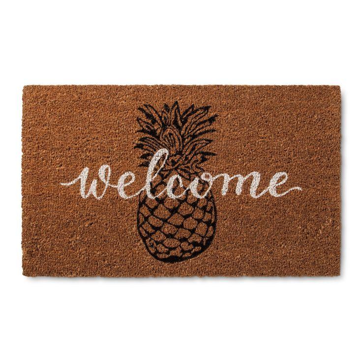 25 best ideas about welcome mats on pinterest diy door mats doormats and funny doormats - Front door mats as a guest greeting tool ...