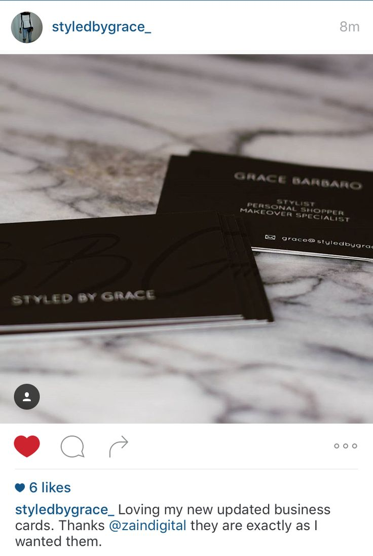 Happy to assist clients in their needs. Last week we were able to assist @styledbygrace_ with their needs for business cards with an upcoming expo this week #BusinessCards #Design #Branding #Print #HappyClient #StyledByGrace #ZainDigital