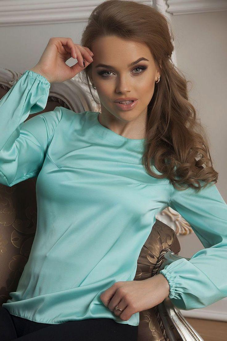 Блузка из шелка Open-Style, категория модные