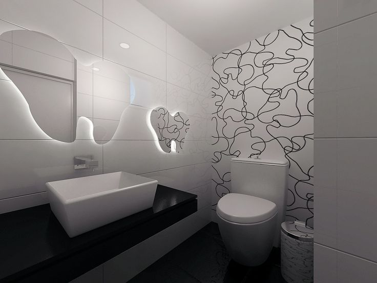 Wall graphic idea - Green with white tooth decal?