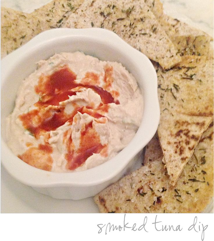 smoked tuna dip || easy dip with things you have on hand