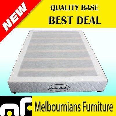 BRAND NEW QUALITY DOUBLE SIZE MATTRESS BASE SLAT WOODEN DB #Base Mattress