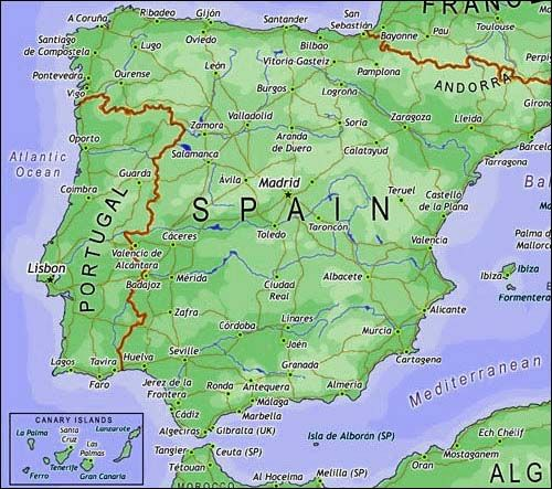 After my camino I will be traveling throughout Spain to Seville, Valencia, Barcelona and Madrid.
