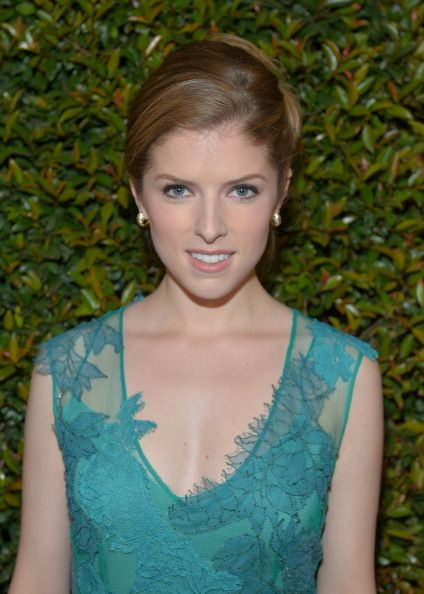 Anna Kendrick - Love this teal dress - get accessories at www.jewelryfanatic.kitsylane.com to complete an Anna style look
