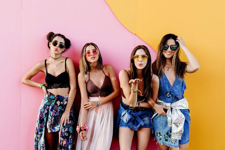 Pamallier, Paulina Goto, Macarena Achaga y Viviana Serna