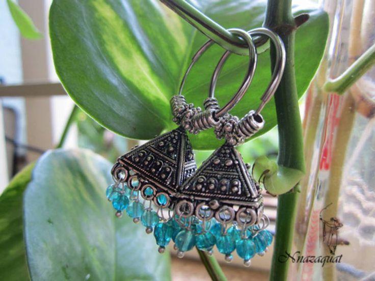 Navratri Oxidized Earrings For Women #Earrings