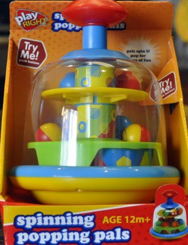 Spinning Popping Pals by Play Right $12.75 #topseller