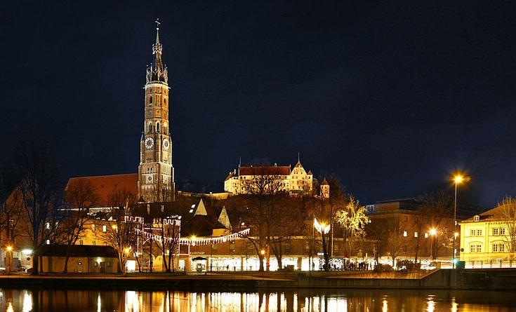 Bayern- Vánoční trh v Landshut - Vánoční trhy - Zimní dovolená - Témata pro dovolenou