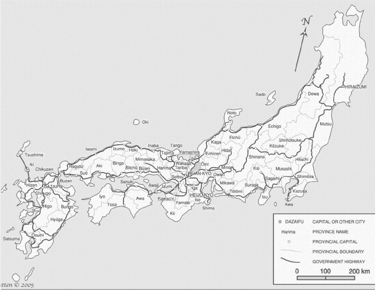 Tässä on Japanin maakunnat ja valtatieverkosto. Hidaan miltei kaikki liikenne kulkee etelästä joki- ja tiereittejä pitkin.